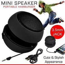 Nouvelle Mini Portable Hamburger 3.5 mm Jack Musique MP3 Joueur Speaker Sound Subwoofer