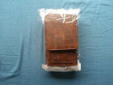 Leather Case for Ulefone Armor 7 Outdoor Case Protective Cover in brown