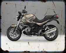 Bmw R1200R 13 3 A4 Metal Sign Motorbike Vintage Aged