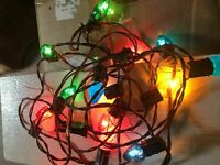 Vintage Peerless Tree Light Company Christmas Tree Lights 20'