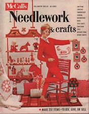 Mccalls Needlework & Crafts Fall - Winter 1962-63 Sewing Knitting Toy 052218DBE2