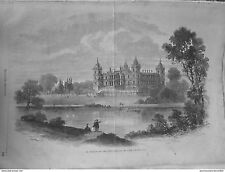 1864 UI61 CHATEAU FERRIERES BARON DE ROTHSCHILD FORTUNE IMMOBILIER BIEN