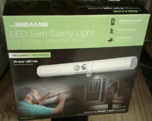 New Motion Activated Integrated LED Slim Safety Night Light Entrance Over Door
