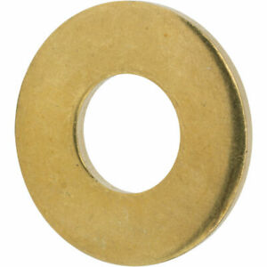Brass Flat Washer Whitworth 1/2 Sold in packs of 10