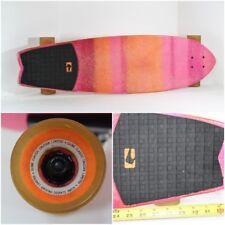 Used Globe Classic Cruiser United By Fate Skateboard Longboard Slant Trucks Pink