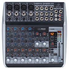 BEHRINGER xenyx QX1202USB mixer professionale 12 canali +effetti 24-bit DJ sudio