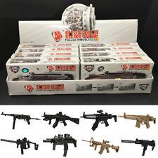 8PCS/Set 1/6 Scale 4D Assembled Submachine Gun Model KRISS Vector Weapon Kid Toy