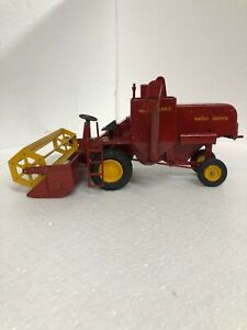 1/20 Vintage Reuhl Massey Harris Self Propelled Toy Combine, Ruehl Toys