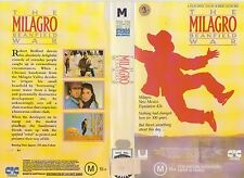 Vhs * The Milagro Beanfield War *1988 Obscure Australian CIC Issue Fantasy Drama