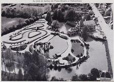 1965  --  PISTE DE KARTING DU VIEUX MOULIN A CHATEAUBOURG  VUE AERIENNE  3I462