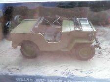 Willys Jeep m606/coche modelo/verde/sin usar/1:43