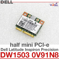 Wi-Fi WLAN WIRELESS CARD scheda di rete DELL MINI PCI-E DW1503 0V91N8 NUOVO D31