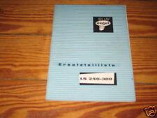 Teilekatalog Welger Miststreuer LS 240 - 300 von 1973