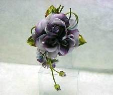 Silk Fairy Bara Rose Corsage Hairpin Flower Party Wedding Gift Decor