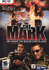 The Mark Defcon 1 Two Agents, Ten Million Lives to Save! (PC CD Game) NEW Sealed