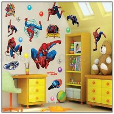 Spider man hero Wall decals Removable stickers home DIY decor kids nursery mural
