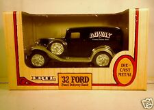ERTL FORD 1932 PANEL TRUCK AGWAY BANK DIE CAST BANK TOY     +1