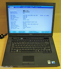 "Dell Vostro 1520 15.4"" WXGA Laptop Core 2 Duo 2.20Ghz 2 GB RAM 160 GB HDD"