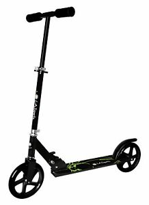 B-Ware Alu-Scooter Onyx City-Roller faltbar Höhe verstellbar große Räder 200 mm
