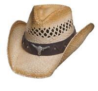 8eca9c233fc NEW Bullhide Hats 2847 Run A Muck Collection Texas Ranch Natural Cowboy Hat