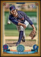 Adam Cimber 2019 Topps Gypsy Queen 5x7 Gold #183 RC /10 Indians