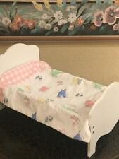 "Olivia's Little World Vintage Doll Bed ~ By Lee Middleton ~ Fits 18"" Doll"
