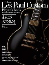 """NEW"" Gibson Les Paul Custom Player 's Book / Japan Guitar Music"