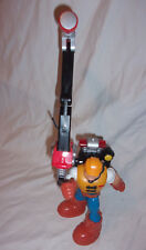 """Jack Hammer Rescue Heroes Heavy Duty Action Figure 7"""" Missal Pop Up Lights Toy"""