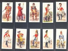 Carreras - History of Army Uniforms - Set in Ex/Mint condition