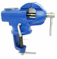 Swivel Base Bench Vice 2 Inch Engineers Table Vise Clamp Anvil  VC035