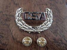 U.S Civil War C.S.A Cap Badge Insignia Hat Pin Csa Confederate States Of America