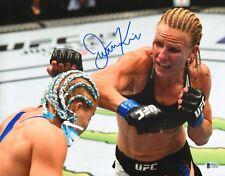 Justine Kish Signed 11x14 Photo BAS Beckett COA UFC Fight Night 112 Autograph 3