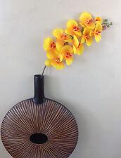 Orchidee ramo 107 cm Arancione SETA FIORI ARTE FIORI ORCHIDEE come reale