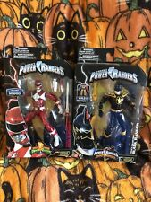Hasbro Power Rangers Legacy Collection 2 Figure Lot. Mip!