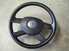 4-Speichen Lederlenkrad VW Touran Lenkrad schwarz 1T0419091A