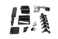 Kit Completo Hardware Guitarra Telecaster - Full Black Hardware Set TL Guitar
