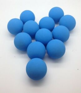 12 Quality, Super Bouncy Light Blue Balls Downgrades