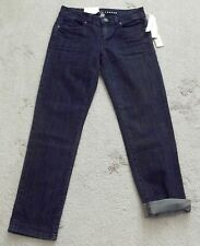 Lauren Conrad Jeans Sz 0 x 27 Blue Gabby Rolled Cropped Pants Stretch Low Rise