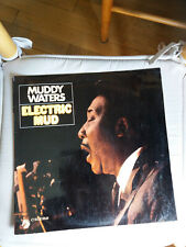 Muddy Waters : Electric Mud  Chess 69505 made in France (10) LP