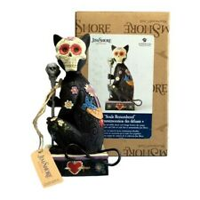 Jim Shore 2019 Souls Remembered - Day of The Dead Cat 6004327 Halloween