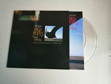 "PINK FLOYD - HIGH HOPES - 7"" POSTERBAG CLEAR VINYL - NEW"