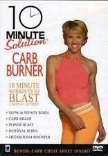 Cardio Toning EXERCISE DVD - 10 Minute Solution CARB BURNER - 5 Workouts!