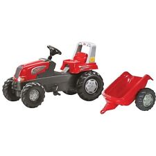 rolly toys 800315 Rolly Junior rot Tretschlepper mit Anhänger  in OVP
