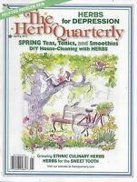 The Herb Quarterly Magazine Spring Teas Tonics And Smoothies Diy House Cleaning