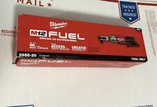 Milwaukee M12 FUEL 12-Volt Li-Ion Brushless Cordless 1/2 in. Ratchet 2558-20 New