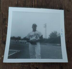 Original B&W Minor League Baseball Photo 1965 Arkansas Travelers Grant Jackson