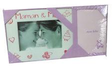 "Cadre Photo ""Maman & Moi"" + Mini album photos"
