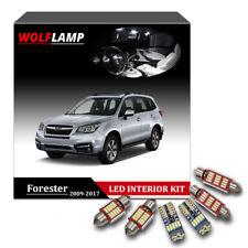 10Pcs White Canbus Bulb LED Kit Interior Car Light For 2009-2017 Subaru Forester