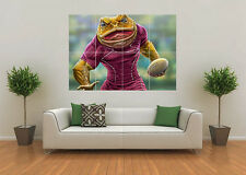 QLD MAROON STATE OF ORIGIN INSPIRED RUGBY NRL MASCOT GIANT WALL ART POSTER PRINT