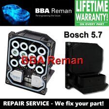 Bmw 3 5 & 7 Series Bmw X5 Bosch 5.7 Dsc Abs Brake Module Repair Service